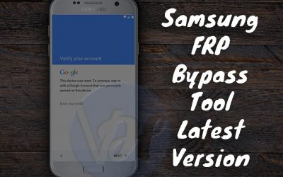 Instructions for removal of Factory Reset Protection (FRP) for all Samsung devices